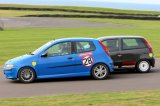 27th September 2009 - BRSCC Race Weekend - Anglesey Race Circuit - Motorlawyers Fiat Racing Challenge Race - James Levy & Mark Snelling