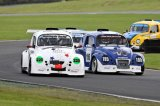 17th October 2009 - BRSCC Fun Cup Race Day - Oulton Park Race Circuit - Fun Cup Race - Team Nightingale Racing & Team Scarab Racing
