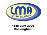 LMA Euro Saloons - Rockingham