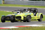 4th September 2010 - Caterham Motorsport Race Day - Oulton Park Race Circuit - Avon Tyres Caterham Supersport Championship Race - Simon Cassidy & Andrew Speck