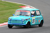 16th April 2011 - Modified Live & Time Attack - Oulton Park Race Circuit - Super Mighty Mini Race - Elliot Stafford