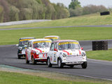 16th April 2011 - Modified Live & Time Attack - Oulton Park Race Circuit - Mighty Mini Race - Christine Holmes & Christopher Kit Stevens