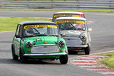 16th April 2011 - Modified Live & Time Attack - Oulton Park Race Circuit - Mighty Mini Race - Thomas Moseley & Paul Chater