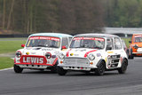 16th April 2011 - Modified Live & Time Attack - Oulton Park Race Circuit - Super Mighty Mini Race - Jonathan Lewis & James Young