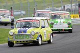 16th April 2011 - Modified Live & Time Attack - Oulton Park Race Circuit - Super Mighty Mini Race - David Berney & Dave Rees