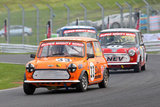 16th April 2011 - Modified Live & Time Attack - Oulton Park Race Circuit - Super Mighty Mini Race - Neil Fearnley & Neven Kirkpatrick